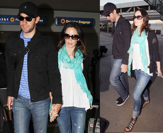 Pictures of Married John Krasinski and Emily Blunt