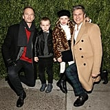 Neil Patrick Harris and Family at Saks Holiday Event 2017