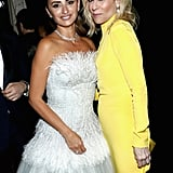 Pictured: Penélope Cruz and Judith Light