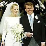 Prince Johan Friso and Mabel Wisse Smit