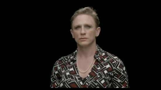 Daniel Craig in Drag For International Women's Day 2011