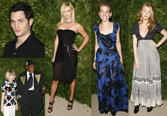 Photos of Blake Lively, Penn Badgley, Charlize Theron, Anna Wintour and More at CDFA/Vogue Fashion Fund Party
