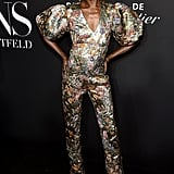 Alek Wek at the Harper's Bazaar ICONS Party