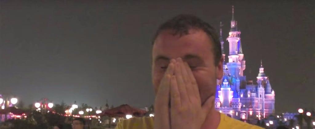 Guys Getting Emotional at Shanghai Disneyland | Video