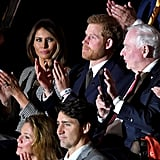 Prince Harry and Melania Trump at Invictus Games 2017