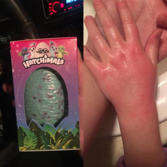 Little Girl Gets Negative Reaction From Hatchimals Bath Bomb