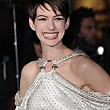 Anne Hathaway at the Les Mis World Premiere in London