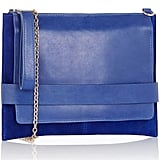 Oasis Blue Flap Clutch