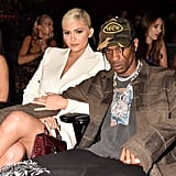 Travis Scott Wearing His Von Dutch Hat by Bana Bongolan at the 2018 MTV VMAs