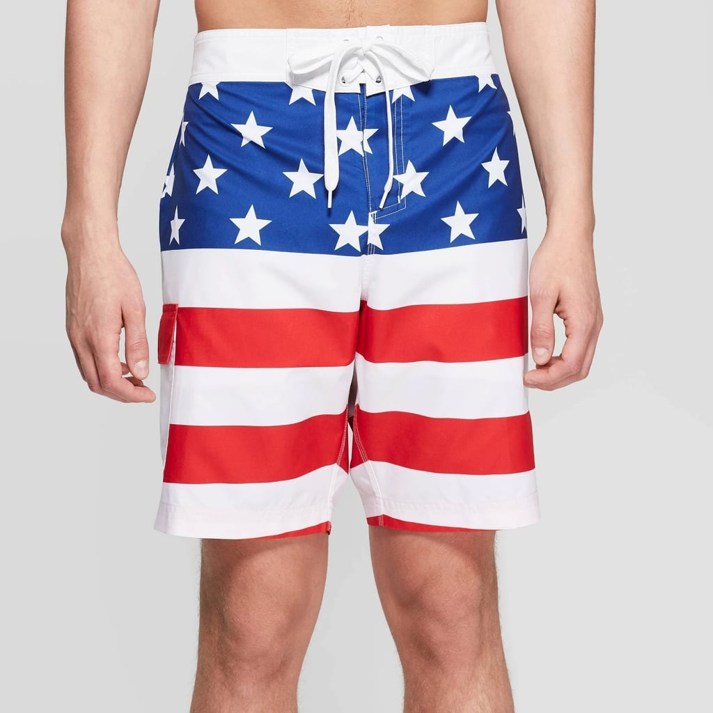 Men's Americana Flag Board Shorts | Best Fourth of July