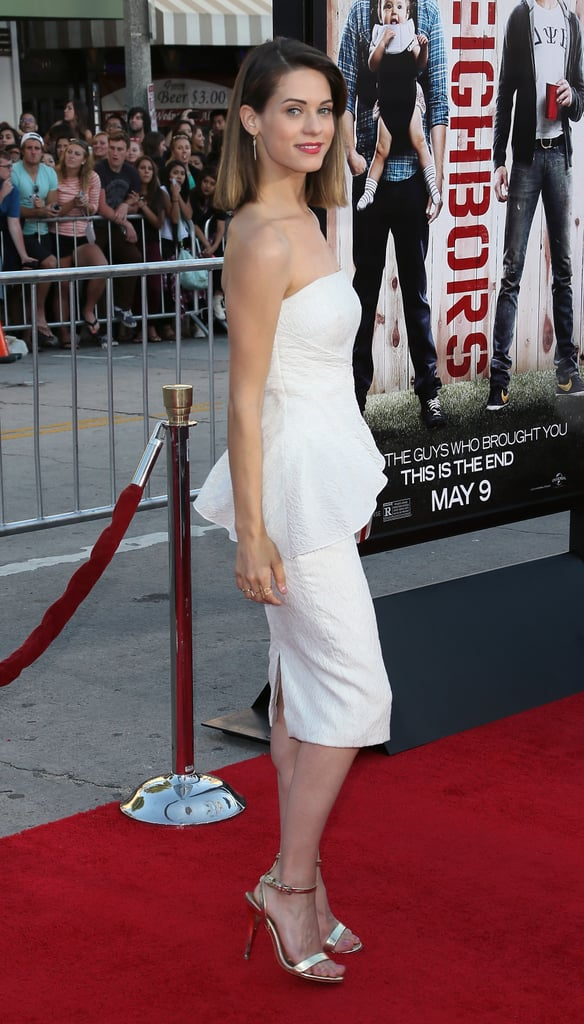 Lyndsy Fonseca dazzled in white.