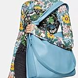 Our Pick: Topshop Helen Blue Ruched Hobo Bag
