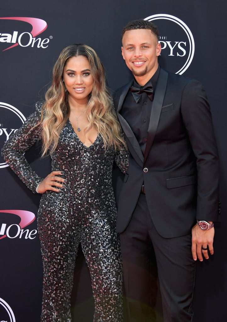 Stephen And Ayesha Curry At The 2017 Espys Popsugar