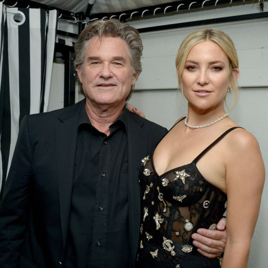 Kate Hudson Talks About Kurt Russell and Goldie Hawn 2017