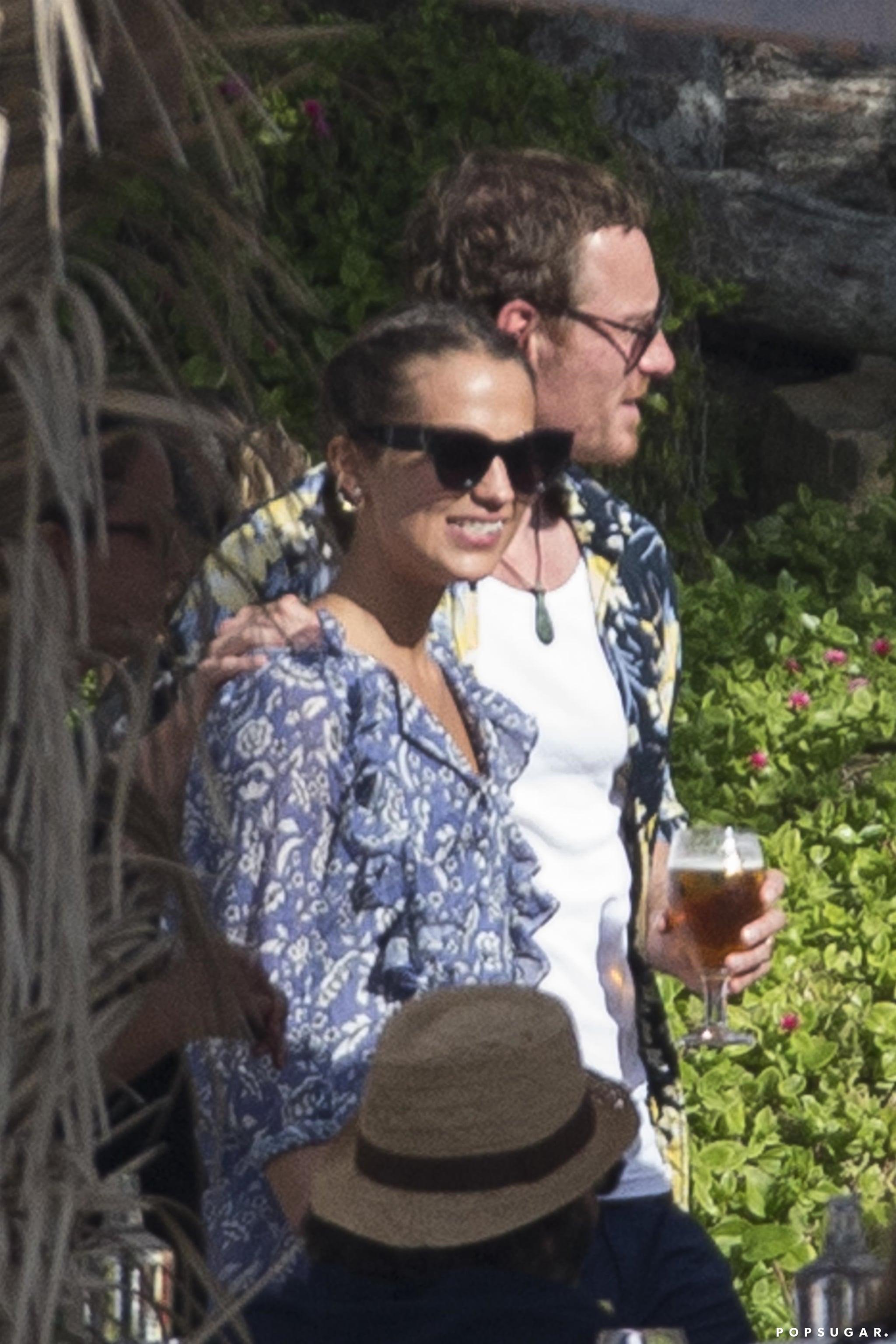 Michael Fassbender And Alicia Vikander In Spain October 2017 Popsugar Celebrity
