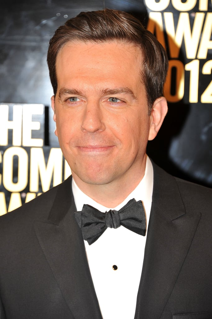 Ed Helms posed at the Comedy Awards in NYC.