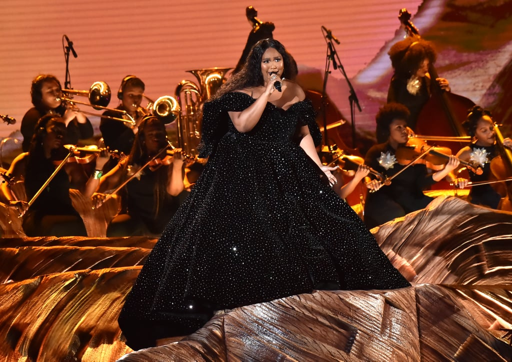 "Lizzo started the Grammys with a memorable performance on Sunday night. The 31-year-old singer lit up the stage with an energy-packed staging of ""Cuz I Love You"" and ""Truth Hurts."" She began the set with a special shout-out to the late NBA legend Kobe Bryant, who died in a helicopter crash earlier that day. ""Tonight is for Kobe,"" she said to open the performance.  It should come as no surprise that Lizzo also looked stunning while rocking a black studded gown before changing into a colourful ensemble. If her outfits and vocals weren't enough to get you going, her incredible dance moves and flute solo definitely should have been. It was a special night for the crooner, who received seven nominations. Early in the night, she was able to snag Grammys for best urban contemporary album for the deluxe edition of Cuz I Love You and best pop solo performance for ""Truth Hurts."" Watch her sing and dance ahead, then look on to view more pictures from her performance!      Related:                                                                                                           Hold On to Your Headphones: Here Are the 2020 Grammy Nominees"