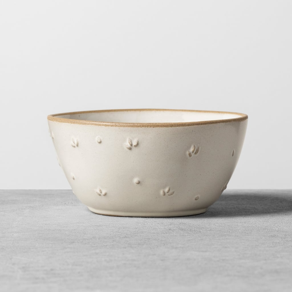 Hearth & Hand With Magnolia Textured Floral Mini Bowl