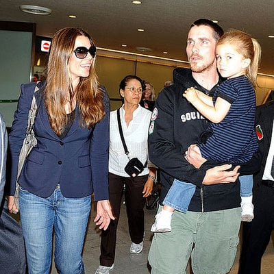 Christian Bale and Family Travel the World