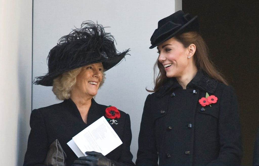 """Camilla: """"Do you think Harry would prefer cufflinks or these Spearmint Rhino vouchers for his birthday?"""""""
