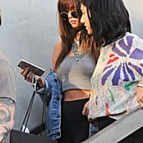 Selena Gomez's Blunt Bangs July 2016