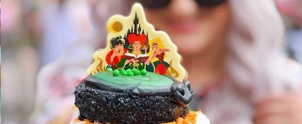 Hocus Pocus Amuck Cupcake at Disney World
