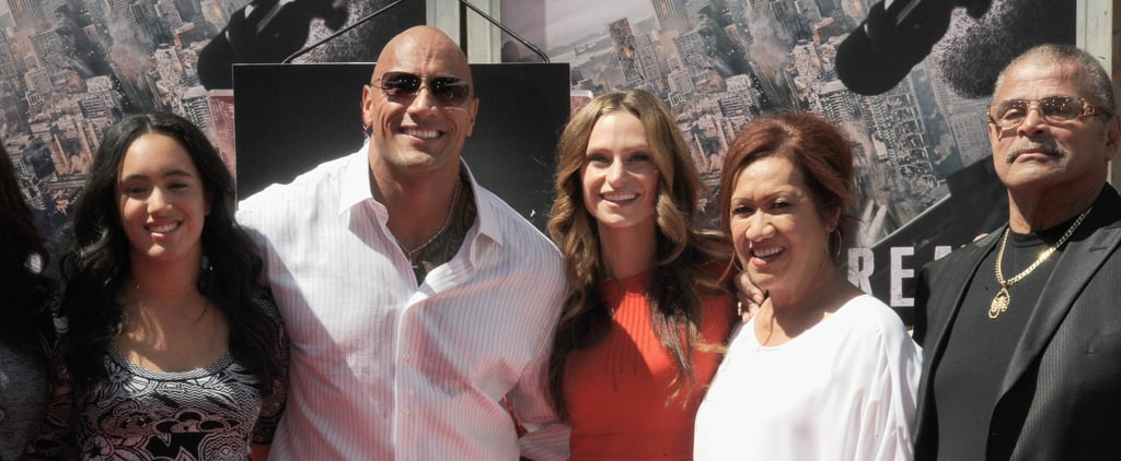"Dwayne Johnson's Dad ""Hustles"" Him Into Buying Him a Car, Because ""New Hips and Whips"""