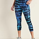 Old Navy High-Waisted Elevate Powersoft Side-Pocket Crop Leggings