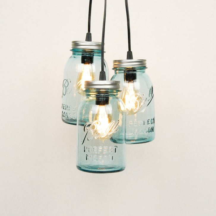 Mason Jar Chandelier: Cool Upcycling Projects