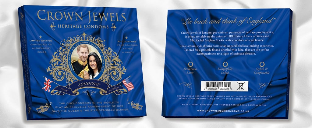 "So, Royal-Wedding-Inspired Condoms Now Exist — and They'll ""Make Your Prince Come"""