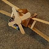 Make an aeroplane.