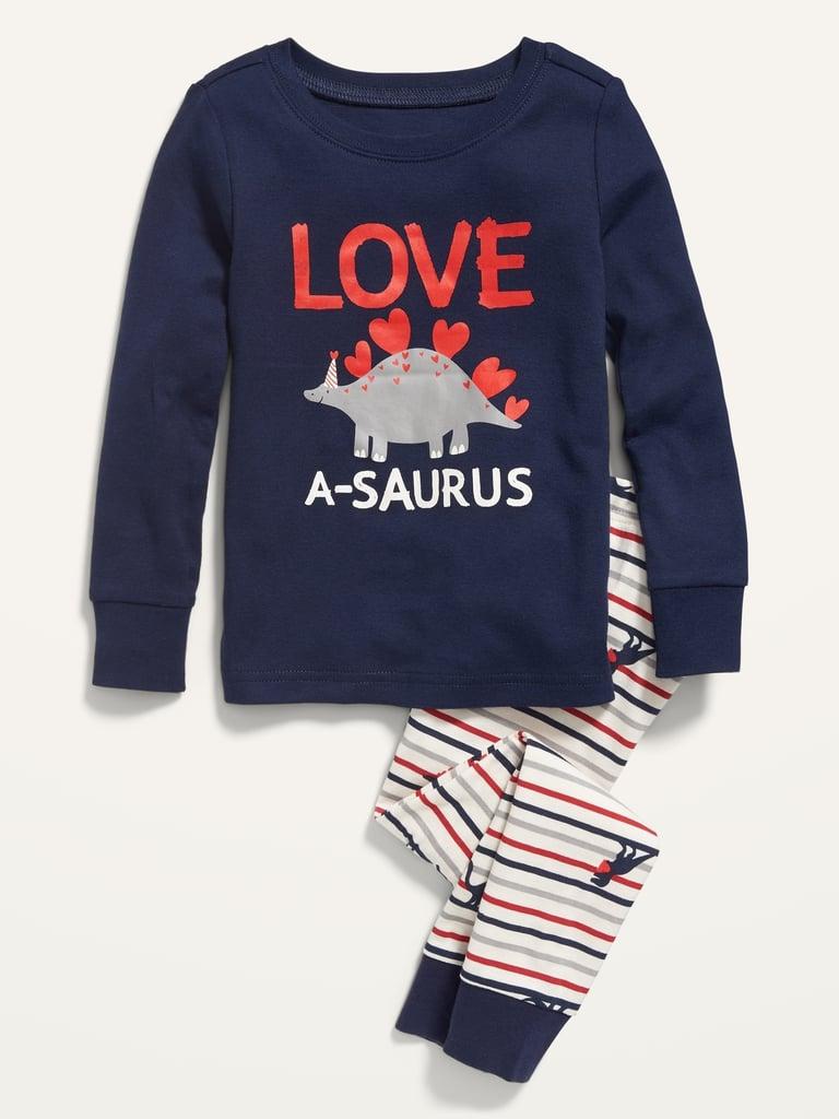 Old Navy Unisex Valentine-Graphic Pajama Set For Toddler & Baby