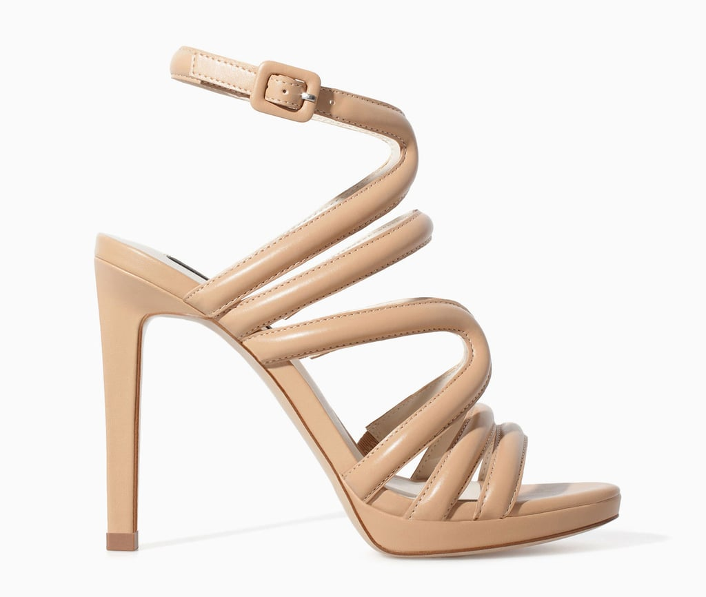 Zara strappy nude high-heel sandals (£40) | 12 Shoes You NEED to ...