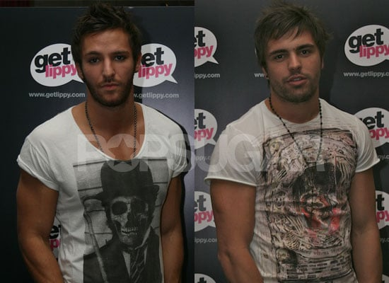 Photos and Interviews With Big Brother 9's Dale Howard And Stuart Pilkington at Get Lippy Party