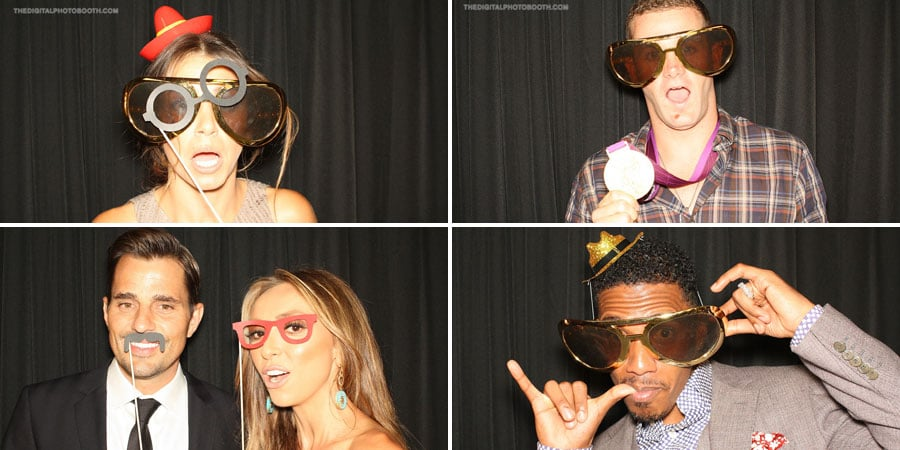 Cute Photo Booth Celebrity Pictures at 2012 Do Something Awards Backstage