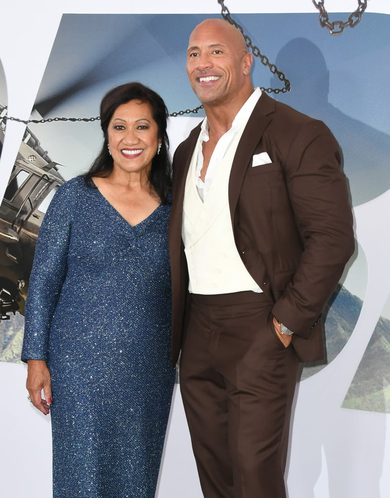 "Dwayne Johnson turned his highly anticipated Hobbs and Shaw premiere into an adorable mother-son date with Ata Johnson in LA on Saturday night. Aside from rolling up to the red carpet in a custom-built truck that was used in the movie, the 47-year-old actor had his mum by his side as he posed for pictures and linked up with his costars, including Jason Statham, Idris Elba, Eiza González, and Dwayne's cousin WWE superstar Roman Reign (née Leati Joseph ""Joe"" Anoaʻi). Dwayne looked as handsome as always in a dark suit, while Ata shined bright in a sparkly blue dress.  During the premiere, Dwayne opened up to Extra about his bromance with Jason. ""From Fast 8, Jason and I — and the filmmakers, the studio, and the fans — started to see this, interesting chemistry happen . . . this relationship that I have with Jason is a lot of fun,"" he joked. ""With a guy like that . . . his ego is so big, like his head, you just got to placate the star."" As we wait for Hobbs and Shaw to hit theatres on Aug. 2, take a look at the premiere pics ahead!      Related:                                                                                                           How Rich Is Dwayne Johnson? Really, Really Rich"