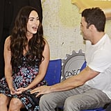 Megan Fox and Brian Austin Green in Brazil