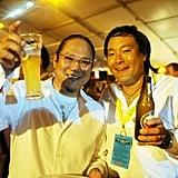 Masaharu Morimoto and Ming Tsai