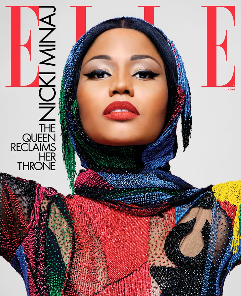 Nicki Minaj on the Cover of Elle July 2018
