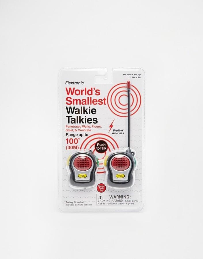 World's Smallest Walkie Talkie ($20)