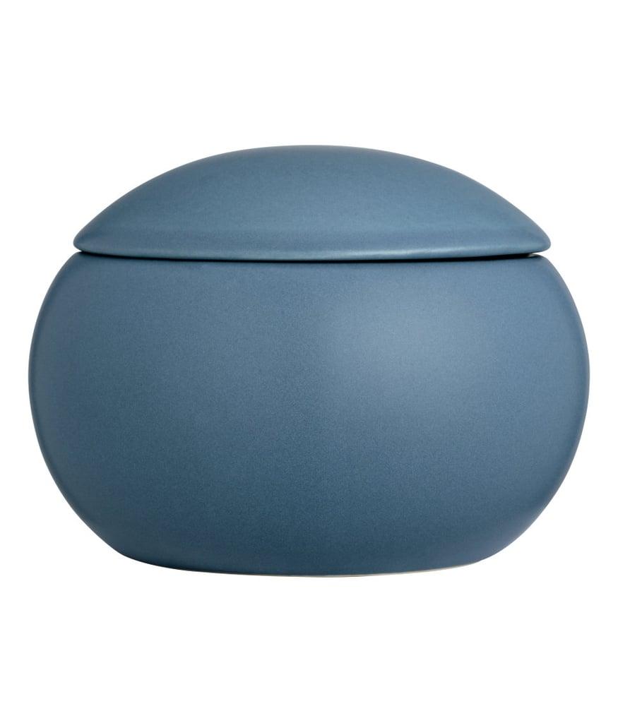 H&M Round Stoneware Jar