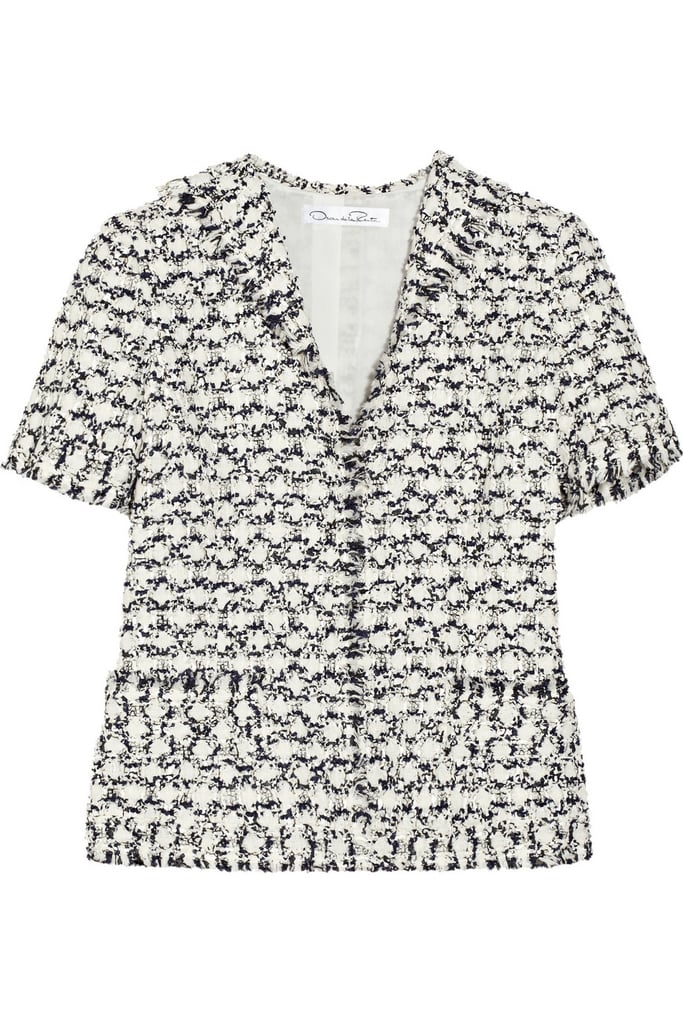 Oscar de la Renta for The Outnet tweed jacket ($695)