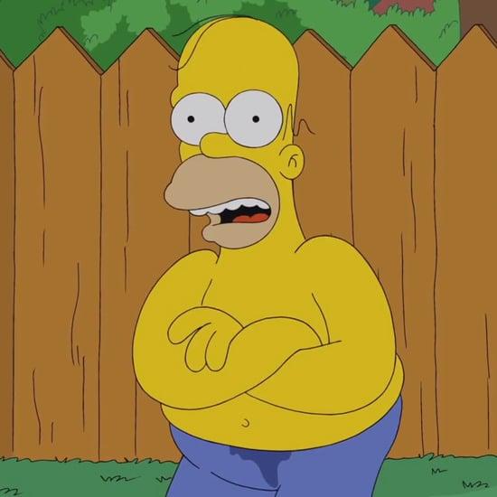 Homer Simpson Doing the Ice Bucket Challenge | Video