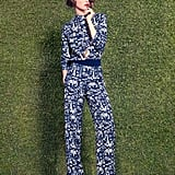 HEAD-TO-TOE PRINT Louis Vuitton   See all Louis Vuitton Resort 2012