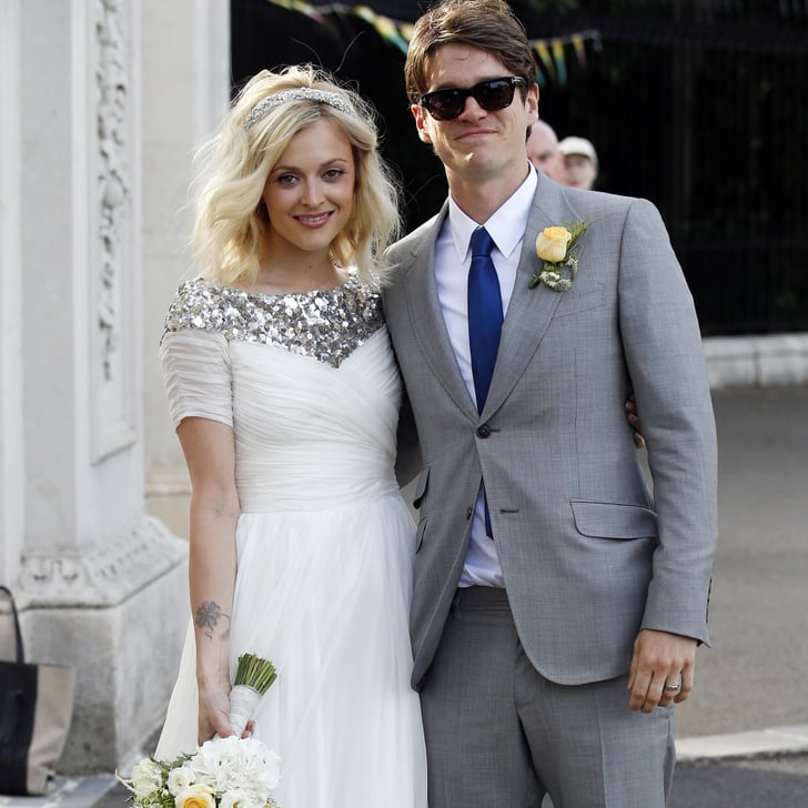 Fearne Cotton Picks Sequins and a Shorter Hemline For Her Wedding