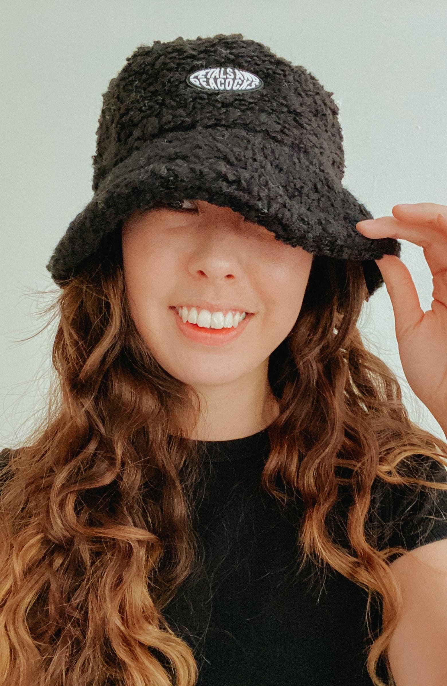 Fuzzy Bucket Hats Popsugar Fashion