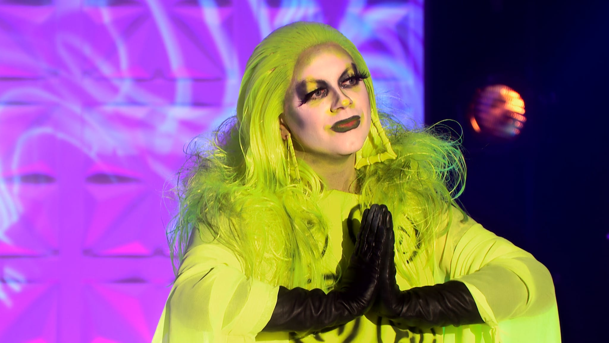 Programme Name: RuPaul's Drag Race UK series 2 - TX: n/a - Episode: RuPaul's Drag Race UK series 2 episode 4 (No. 4) - Picture Shows:  Ginny Lemon - (C) World of Wonder - Photographer: World of Wonder