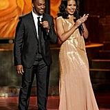 Anthony Mackie and Sanaa Lathan