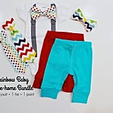 Rainbow Baby Boy Outfit