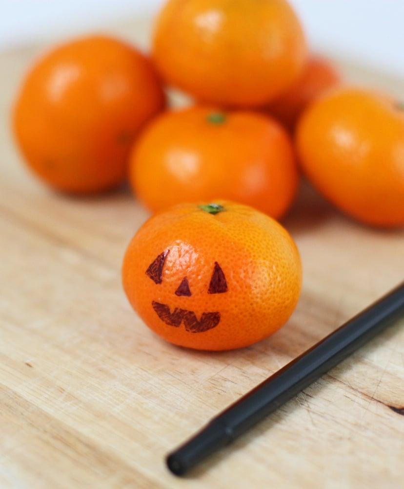 Jack-o'-Lantern Clementines